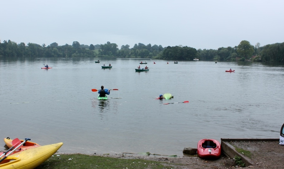 kayaking and canoeing