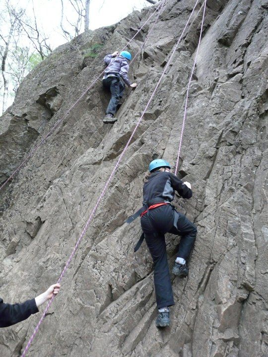 Free rock climbing sessions