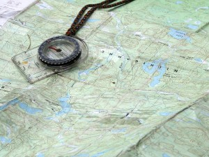 You could brush up on your map reading and compass skills