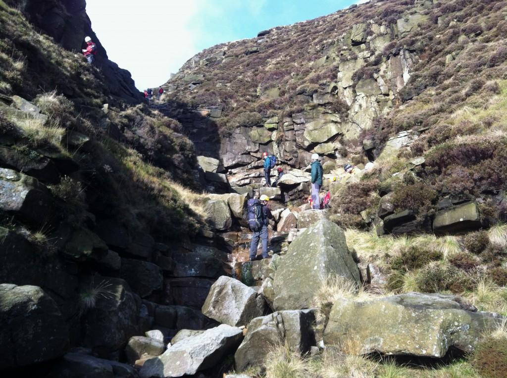 Mountain Adventure Scramble in the Peak District
