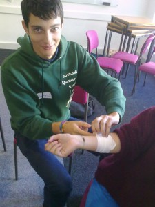 HSE First Aid at Work course