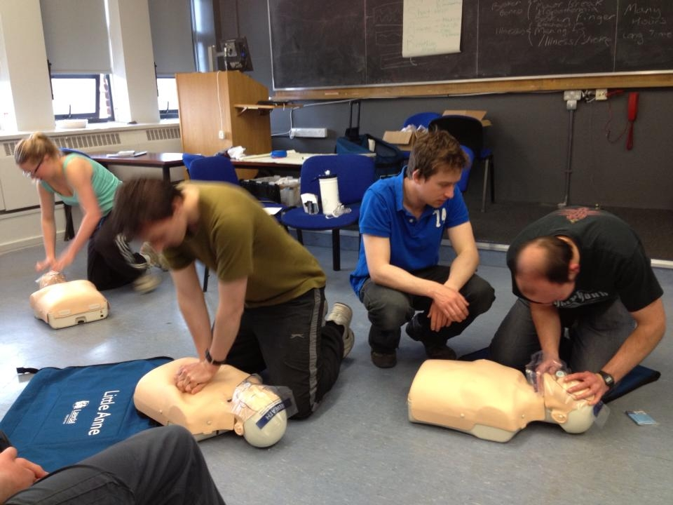 February first aid courses, now with an added bonus