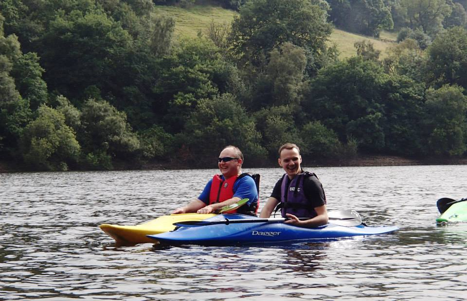 Kayaking at Toddbrook Reservoir